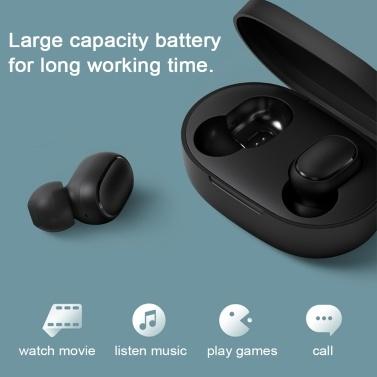 Redmi AirDots 2 Mini Headphones Multifunctional Earphone BT Earphones Wireless Headset Sports Earbud with Charge Box