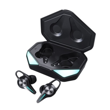 K5 Bluetooth-Kopfhörer Gaming-Headset 45 ms Niedrige Latenz 9D Hifi Stereo-Wireless-Kopfhörer mit LED-Licht Noise Cancelling-Headsets