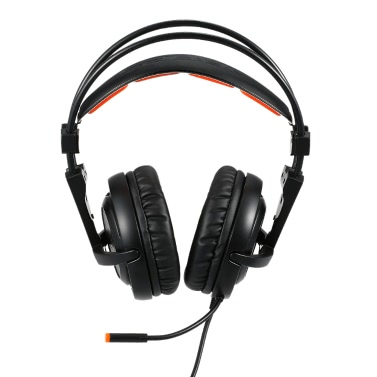 SADES A6 Gaming Kopfhörer Schwarz mit Orange