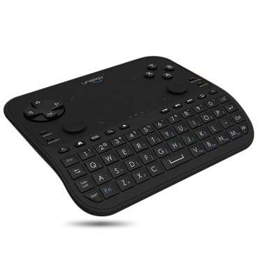 35% OFF uniplay U6 6 in 1 2.4G Wireless QWERT Keyboard,limited offer $32.99