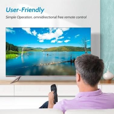 Echte Universal-TV-Fernbedienung für Foxtel PayTV Ersatzgerät für Foxtel Mystar HD PayTV IQ2 IQ3