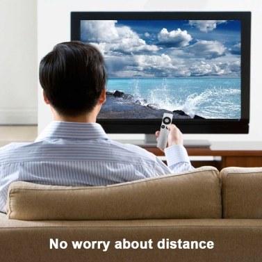 Intelligente Ersatzfernbedienung für Apple TV Mini-TV-Fernbedienung Einfach, Silber zu greifen