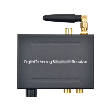 192Khz BT DAC Digital to Analog Audio Converter with BT Receiver With Volume Control