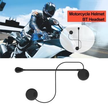 M5H BT 5.0 Moto Helmet Headset Wireless Handsfree Stereo Earphone Motorcycle Helmet Headphones MP3 Speaker