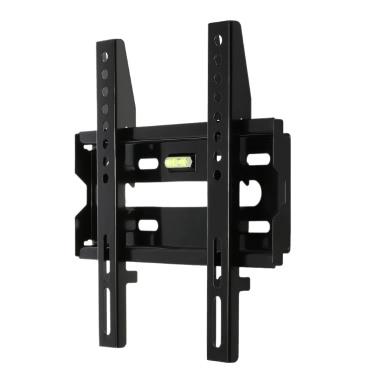 RL-004-1 TV-Wandhalterung Flat Panel Festeinbau Flat Screen Halterung mit 230 * 230 VESA Ladekapazität 50kg für 14-32in Screen LCD-LED