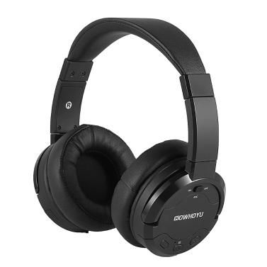 4 € de réduction pour HOWHOYU A3 Active Réduction du bruit Bluetooth Over Ear Casque avec microphone seulement € 32,67