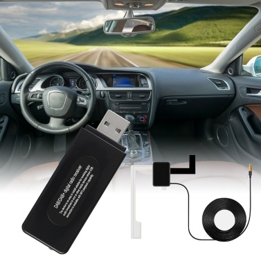 DAB Digital Radio Receiver Digital Audio Broadcast U Disk Format Playback for Car (Only for Countries that have DAB Signal)