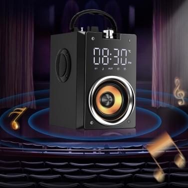 Drahtloser BT-Lautsprecher Tragbare Säule Hochleistungs-Subwoofer-Musiklautsprecher Tragbare Soundbox für den Außenbereich