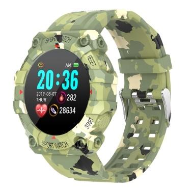 FD68 модные интеллектуальные спортивные часы с цифровым дисплеем высокой четкости IP67 водонепроницаемый монитор сердечного ритма многофункциональные спортивные часы BT