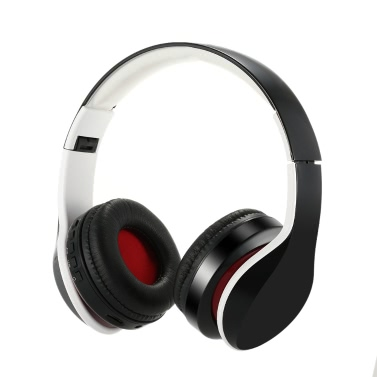OY712 Wireless Stereo BT Headset BT 4.1 Music Headphone 3.5mm Audio TF Card MP3 Player FM Radio 4 1 Folding Earphone Hands-free w/ Mic Black iPhone 6S 6 Samsung S6 Note 5 Notebook BT-enabled Devices