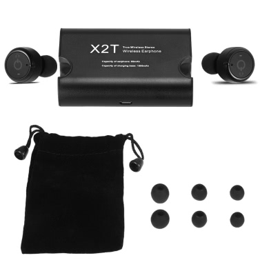 X2T True Wireless  In-ear Stereo Bluetooth Headphones