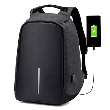 Multifunction Backpack Casual Daypack with USB Connection
