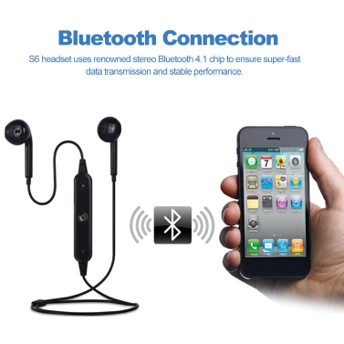 In-ear Bluetooth Music Headset With Built-in Microphone
