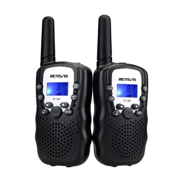 2 Stück Retevis RT-388 Kinder Walkie Talkies