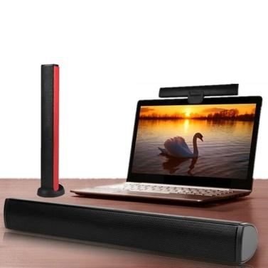 Mini USB Lautsprecher Laptop Subwoofer Stereo Soundbar Lautsprecher für Noteook PC Computer TV