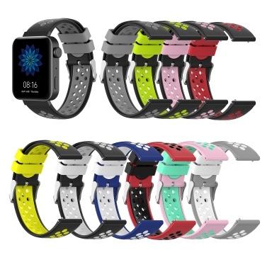 Uhrenarmband für MI Watch Unisex Silicone Wristband Wrist Strap Mehrere Farben Optional