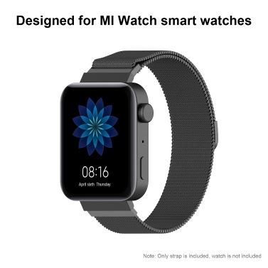 Uhrenarmband für MI Watch Unisex Edelstahlgewebe Armband Armband Mehrere Farben Optional
