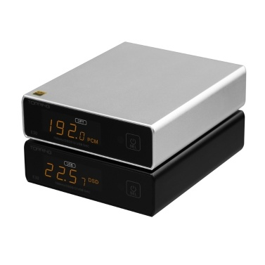 TOPPING E30 USB DAC MINI HIFI Decoder AK4493 XU208 32bit/768k DSD512 Touch Operation with Remote Control Hi-Res Decoder