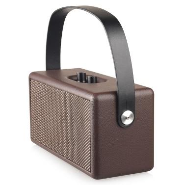 D30 Einfacher tragbarer Uhrlautsprecher Multifunktionswecker BT Kleiner Lautsprecher