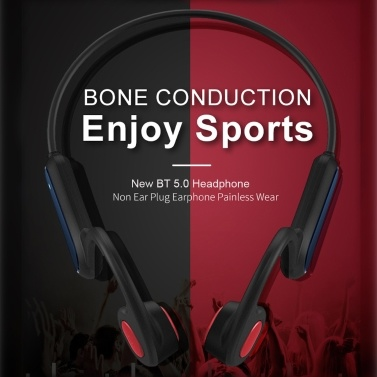 A9 IP56 Wasserdichte Knochenleitung Drahtloser Bluetooth 5.0-Kopfhörer