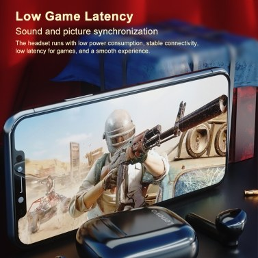 Lenovo XT89 True Wireless Headphones Bluetooth 5.0 TWS Earbuds Touch Control Sport Headset IPX5 Sweatproof In-ear Earphones
