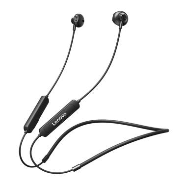 Lenovo SH1 Drahtloser Kopfhörer Bluetooth 5.0 Headset IPX5 Wasserdichter magnetischer Nackenbügel Ohrhörer Sportkopfhörer mit Mikrofon