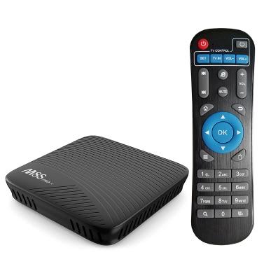 MECOOL M8S PRO L 4K Android 7.1 TV Box Amplitunkowy S912 3 GB / 16 GB US Plug