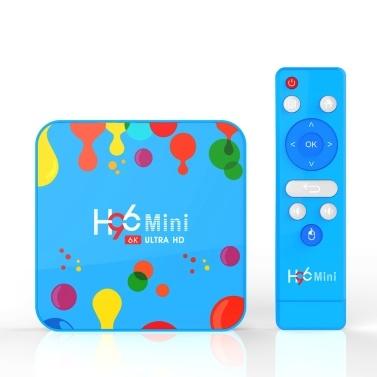 Android 9.0 Smart TV Box H96 Mini Allwinner H6 Quad Core 4 GB RAM 128 GB ROM 4 K Media Player