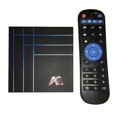 A10 Inteligente Android 9.0 TV Box RK3318 Núcleo Quad 64 Bits 4 GB / 32 GB UHD 4 K VP9 H.265 / H.264