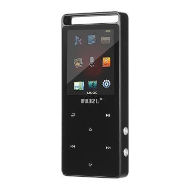 RUIZU D01 Hi-Fi MP3 Player 4G / 8G 1,8 polegadas Gravador de voz com botão de toque