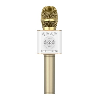 TOSING 04 Wireless Karaoke Microphone Bluetooth Speaker 2-in-1 Handheld Sing & Recording Portable KTV Player for iOS/Android