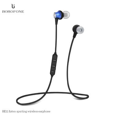 BOROFONE BE11 Cuffie Bluetooth 4.1 Cuffie sportive magnetiche