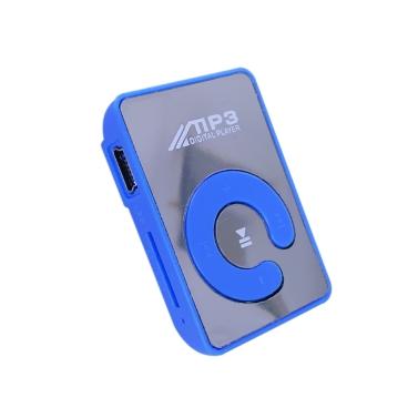 Mini Spiegel Clip MP3 Player Tragbarer Sport USB Digital Musik Player Micro SD TF Karte Media Player