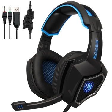 SADES R9 PC 3,5 mm Kabel Gaming Headsets