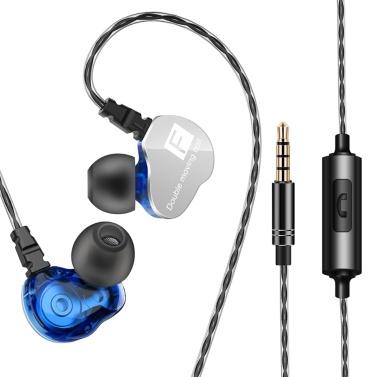 QKZ CK9 3.5mm Wired In-ear Headphone