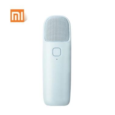 Xiao-mi F-MIC-02 Tragbares, ultradünnes 3,5-mm-Kabelmikrofon Kompakter Handheld-KTV-Musiklautsprecher