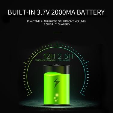 X1 Outdoor IPX7 Wasserdichte Lautsprecher Drahtlose Bluetooth Lautsprecher TWS Stereo Sound Box 10 Watt Subwoofer Unterstützung TF Karte AUX IN mit Mikrofon Akku
