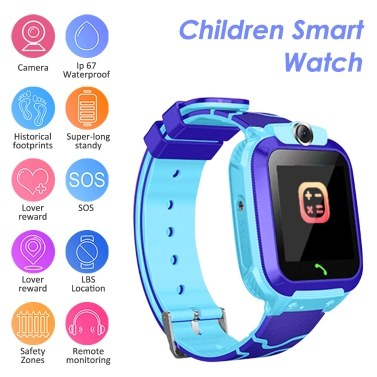 S12A Multifunktionaler Kinder Kinder Smart Watch Tracker