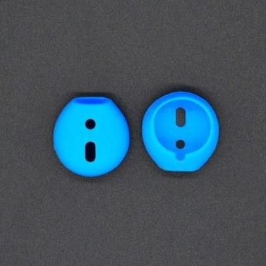 1 Paar weiche, ultradünne Kopfhörerspitzen, rutschfeste Silikon-Ohrhörer-Schutzhülle, kompatibel mit Apple AirPods Earpods