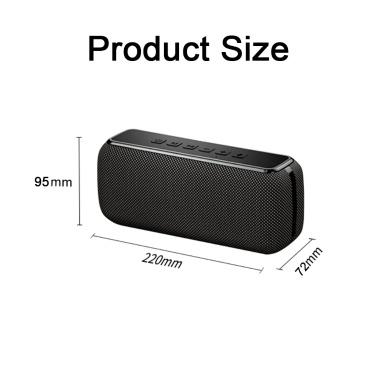Cyboris V7 Pro Wireless-Lautsprecher 50 W Bluetooth 5.0 Subwoofer mit zwei Lautsprechern DSP HD-Sound 6600 mAh Unterstützung für mehrere Soundeffekte Lautsprecher AUX TF Typ C.