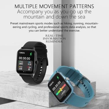 Y20 Smart Sports Band Fitness Tracker BT Bracelet Smart Watch