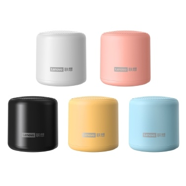 Lenovo L01 Mini Wireless Bluetooth 5.0 Speaker TWS Connection Outdoor Speaker with Lanyard Portable Sound Box Hands-free with Microphone USB Rechargeable