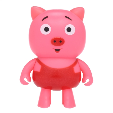 Mini Smart Robot Pig Wireless Bluetooth Speakers Stereo Sound Box Hands-free W/ Mic Dancing Robot Speaker for Kids Cute Children Gift Toy