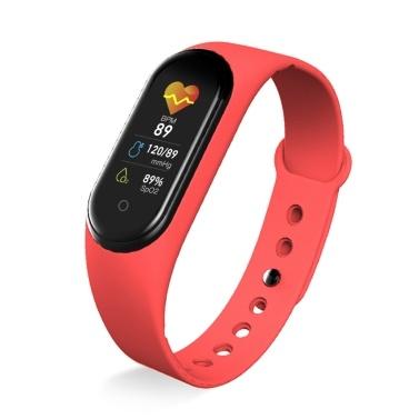 M5 Intelligence Armband Herzfrequenz Blutdruckmessgerät Armbänder Schrittzähler Sportarmband Wasserdichtes Fitnessband