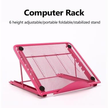 Folding Laptop Cooling Stand Holder Portable Rack Computer Rack