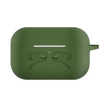 Silikon-Schutzhülle Kompatibel mit Apple AirPods Pro 2019 Drahtlose BT-Kopfhörertasche Stoßfest Kratzfest Kompatibel mit Air Pods Pro Schutzhülle
