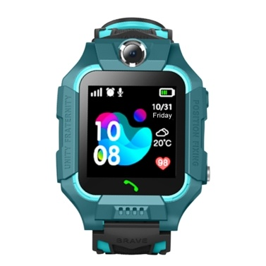 "SZ6A Multifunktionale Kinder Kinder Smart Watch Tracker Intelligente Band Sensitive 1,44 ""Touchscreen Kompatibel für Android / IOS-Telefonsystem Chat Anruf Kamera Wecker LBS Positionierung IP67 Wasserbeständigkeit für Geschenk"