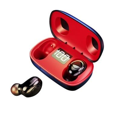 S9 Portable Headphones TWS Earphone BT Earphones 5.0 Wireless Headset Sports Earbud with Charge Box