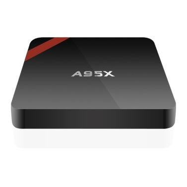 48% OFF A95X Smart Android 6.0 TV Box S905X 1G / 8G US Plug,limited offer $28.99
