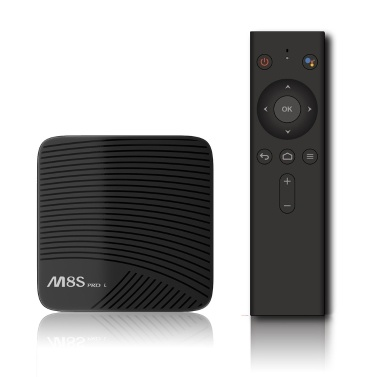 $9 OFF MECOOL M8S PRO TV Box 2.4G Voice IR Remote Control,free shipping $64.99(Code:TTMPRO9)